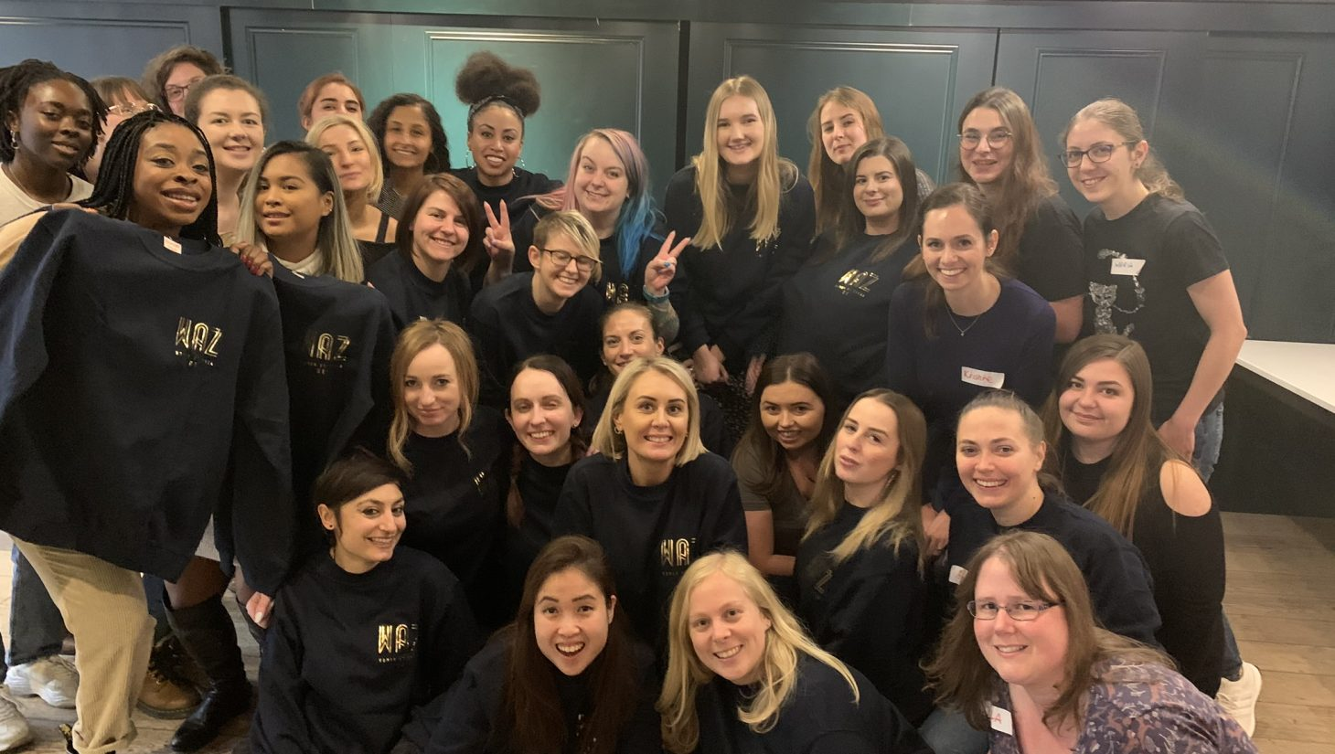 Women at Zynga event